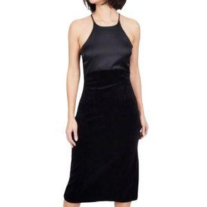 JUICY COUTURE Black Label dress velour dress